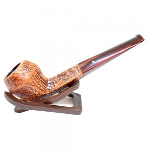 Alfred Dunhill Pipe – The White Spot County Straight Pipe (4104)