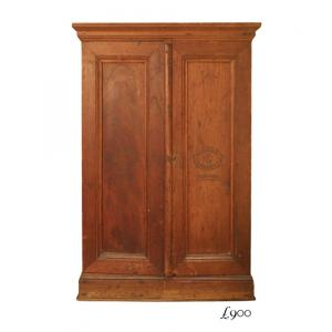 Calixto Lopez antique cigar cabinet