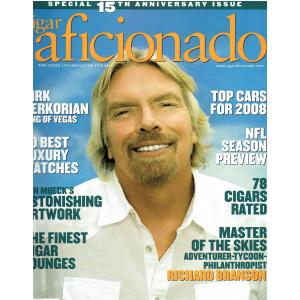 Cigar Aficionado Magazine - Sept/Oct 2007