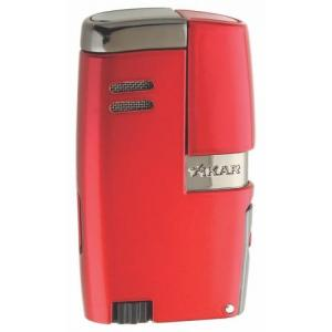 Xikar Vitara Double Jet Lighter - Daytona Red
