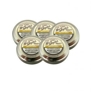 McChrystal's Mulled Magic Snuff - Large Tin - 5 x 8.75g