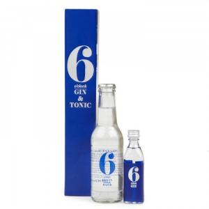 6 O'Clock Gin Gift Pack - 5cl & 20cl Tonic