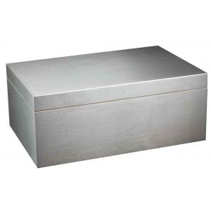 JANUARY SALE - Adorini Aluminium Deluxe Cigar Humidor - Large - 150 Cigar Capacity