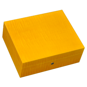Elie Bleu Fruit Collection Yellow Humidor - 75 Cigar Capacity