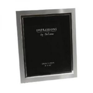 Silver Plated Personalised Photo Frame - Holds 10 x 8 Inch Photos