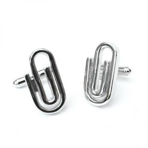 Large Paperclip Cufflinks