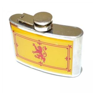 4oz Scottish Lion Personalised Hip Flask