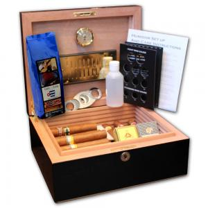 Aficionado Compendium Humidor - The Sublime Cigar Selection