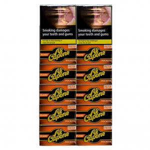 Al Capone Pockets Flame Filter Cigarillos - 10 Packs of 10 (100)