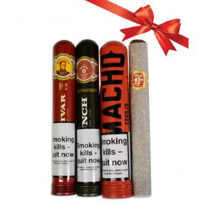 All Wrapped Up Christmas Sampler - 4 Cigars