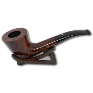 Alfred Dunhill Pipe – The White Spot Amber Root Group 4 Horn Pipe (4135)