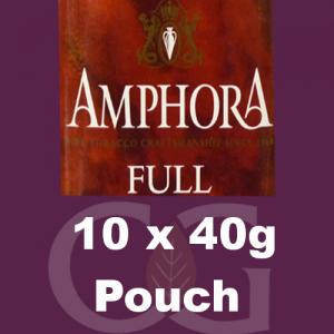 Amphora Full Pipe Tobacco - 400g (10 x 40g Pouches)
