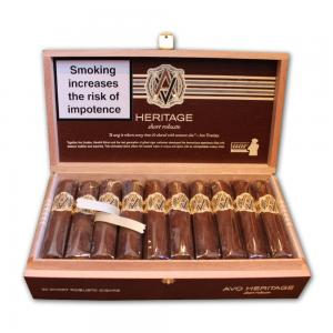 AVO Heritage Short Robusto ND Cello Cigar - Box of 20