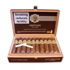 AVO Heritage Short Torpedo ND Cello Cigar - Box of 20