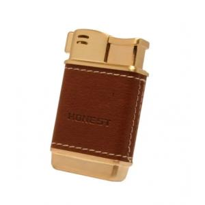 Honest Boyd Pipe Lighter – Gold & Tan (HON04)