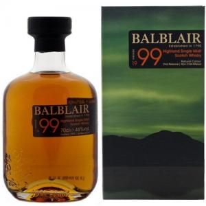 Balblair 1999 Single Malt Scotch Whisky - 70cl 46%
