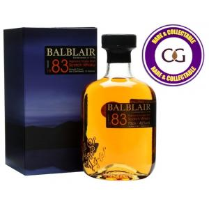 Balblair 1983 Single Malt Scotch Whisky - 70cl 46%