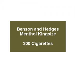Benson & Hedges Blue Kingsize - 10 Packs of 20 Cigarettes (200)