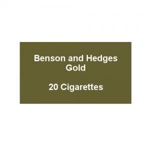 Benson & Hedges Gold Kingsize - 1 Pack of 20 Cigarettes (20)
