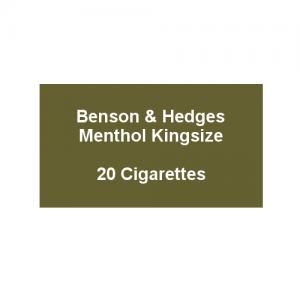 Benson & Hedges Sky Blue Kingsize - 1 Pack of 20 Cigarettes (20)