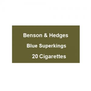 Benson & Hedges Blue Superkings - 1 Pack of 20 Cigarettes (20)