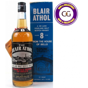 Blair Athol 8 Year Old 1970s Single Malt Scotch Whisky - 70 Proof 26 2/3 FL OZS