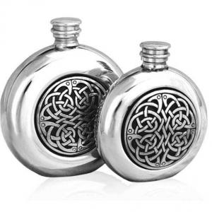 6oz Pewter Hip Flask - CEL193
