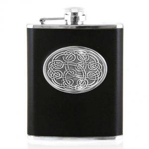 6oz Leather Hip Flask - CEL951