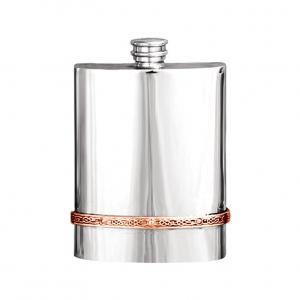 6oz Pewter Hip Flask - CEL973
