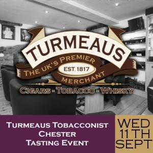Turmeaus Chester Whisky & Cigar Tasting Event - 11/09/19
