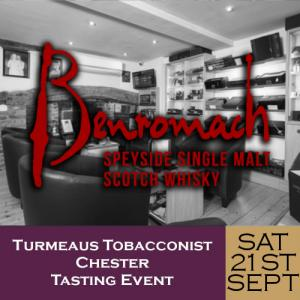 Turmeaus Chester Whisky & Cigar Tasting Event - 21/09/19