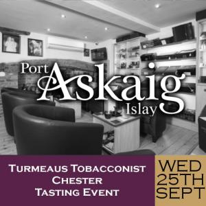 Turmeaus Chester Whisky & Cigar Tasting Event - 25/09/19