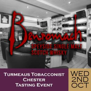 Turmeaus Chester Whisky & Cigar Tasting Event - 02/10/19