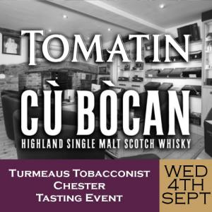 Turmeaus Chester Whisky & Cigar Tasting Event - 04/09/19