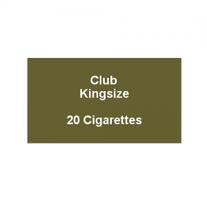 Kensitas Club Kingsize Cigarettes - 1 Pack of 20 Cigarettes (20)