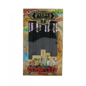 Cuba City For Men Aftershave - 4 x 35ml