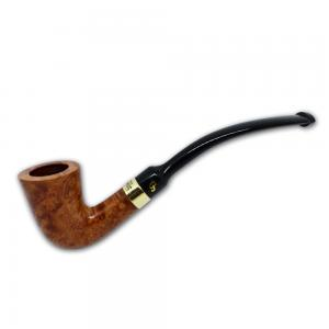 Peterson Calabash Gold Mount Natural Fishtail Pipe (PE598)
