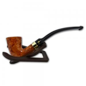 Peterson Calabash Gold Mount Natural Fishtail Pipe (G1120A)