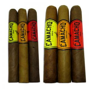 Camacho Mixed Honduran Sampler - 6 Cigars