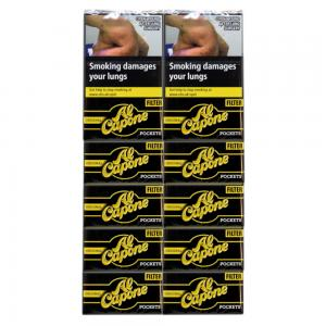 Al Capone Pockets Original Filter Cigarillos - 10 Packs of 10 (100)