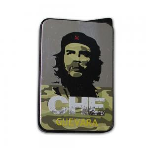 Champ Che Camouflage Soft Flame Lighter - Black and Silver