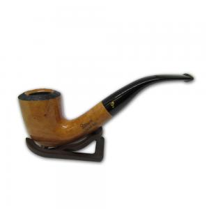 Peterson Clontarf Natural Briar Smooth Bent XL20 Fishtail Pipe (PE331)
