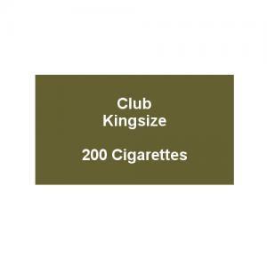Kensitas Club Kingsize Cigarettes - 10 Pack of 20 Cigarettes (200)