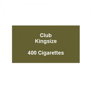 Kensitas Club Kingsize Cigarettes - 20 Pack of 20 Cigarettes (400)