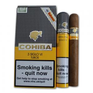 Cohiba Siglo VI Tubed Cigar - Pack of 3