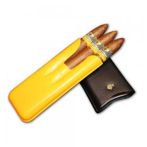 Cohiba Piramides Extra Leather Pouch – 3 Cigars