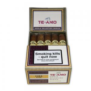 CLEARANCE! Te-Amo World Selection Series Cuban Robusto Cigar - Pack of 15