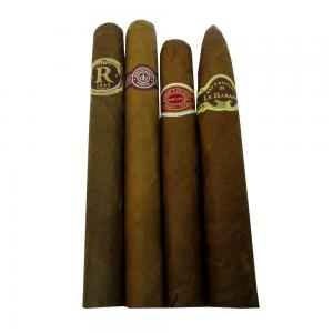 Cuban Medium Strength Sampler - 4 Cigars