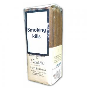 Cusano Dominican Selection Petit Panatela Cigar - Bundle of 16