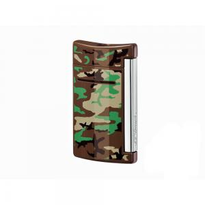 ST Dupont Lighter - Minijet - Brown Camouflage